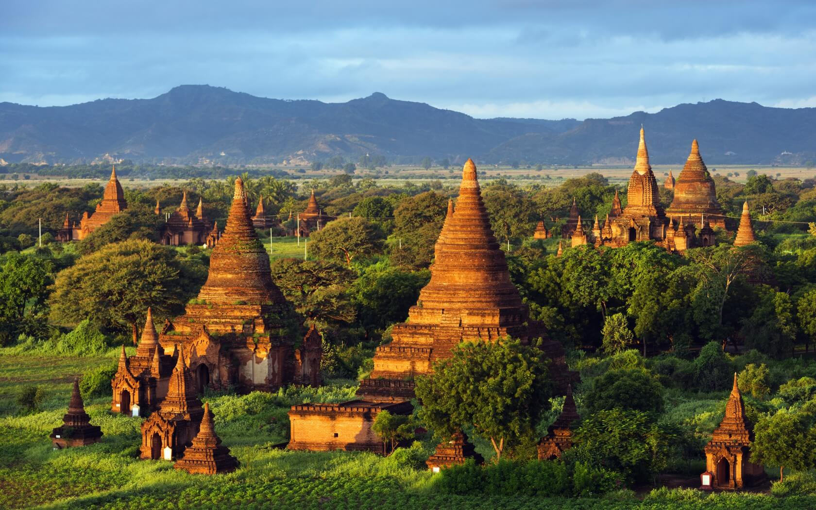 Yangon to Bagan Tour - Travel to Bagan from Yangon by bus After The Sunset