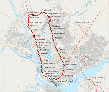 yangon tour by circular train