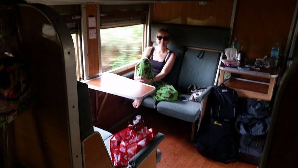Overnight Train from Yangon to Bagan 2