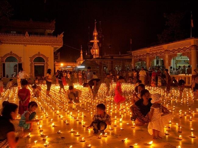 shwedagon pagoda festival 10