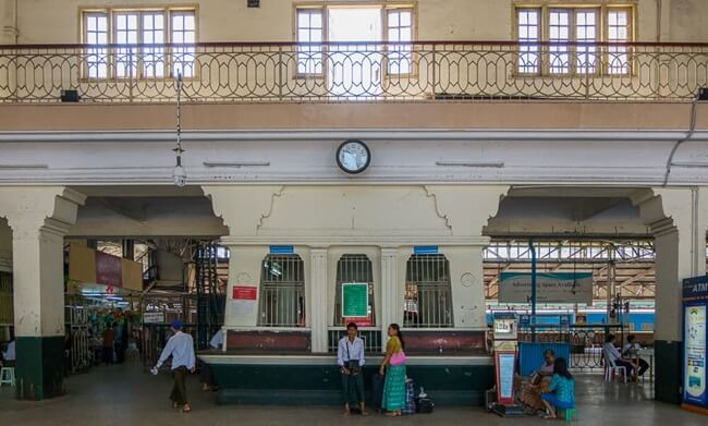 Yangon Circular Train 7