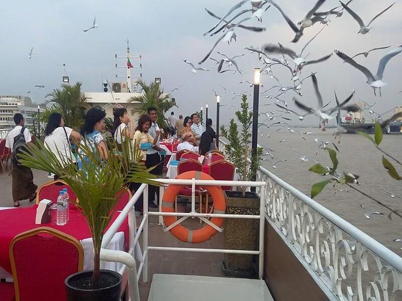 Royal Green River Cruise In Yangon Myanmar  2016