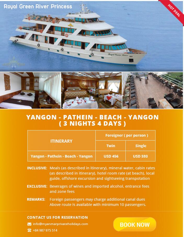 hot deal cruise myanmar