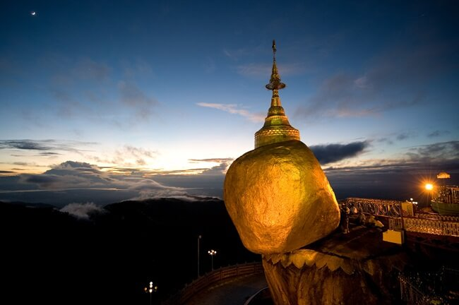 travel from yangon to golden rock 2
