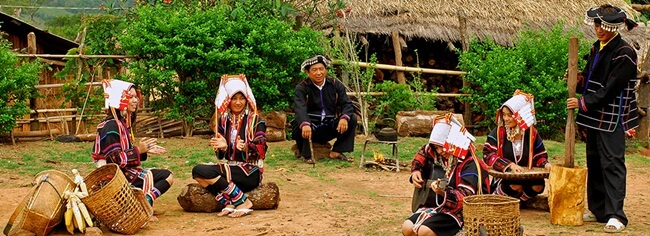 One of the hill tribe in Kengtung